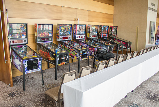Some of the tournament machines