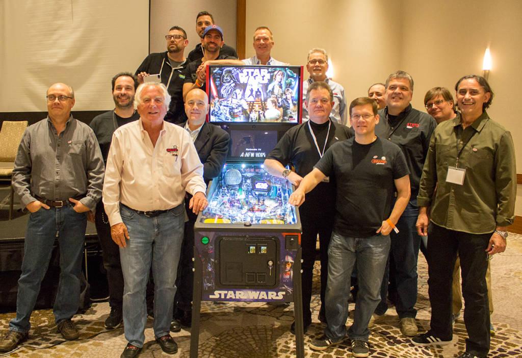 The Stern Pinball team