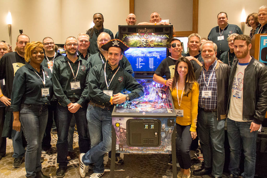 The Jersey Jack Pinball team