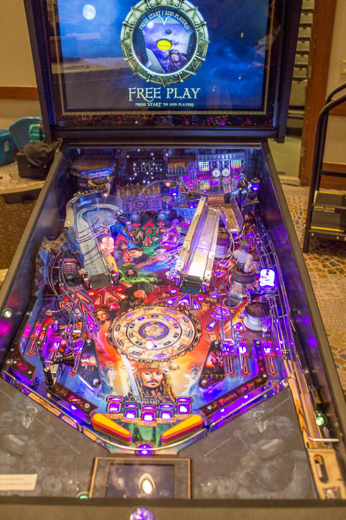 The Pirates of the Caribbean playfield