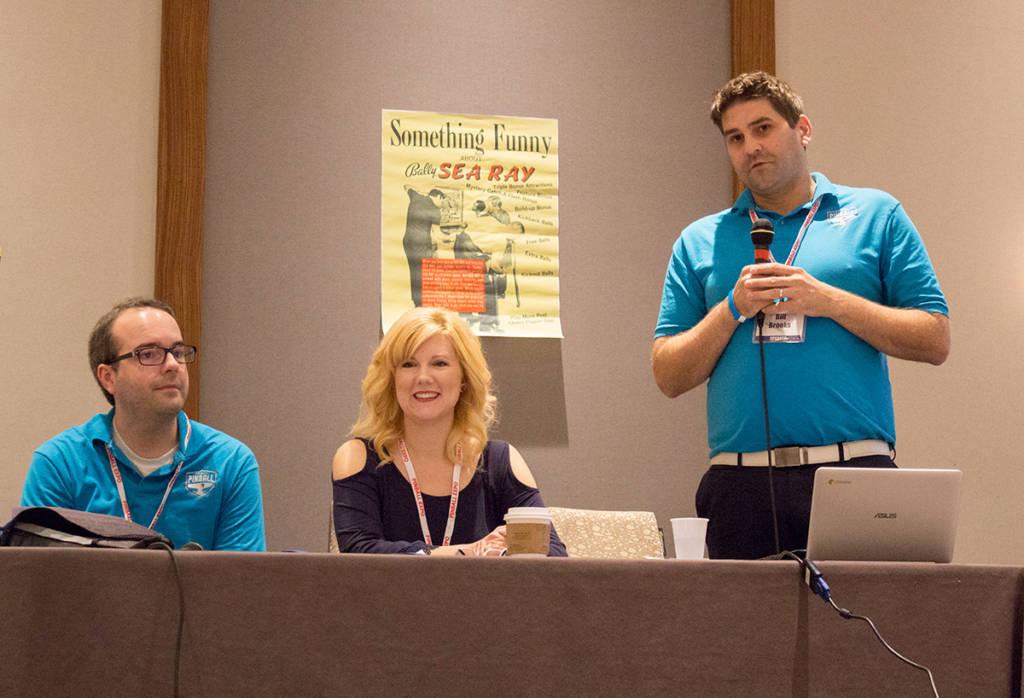 Jim, Emily and Bill Brooks
