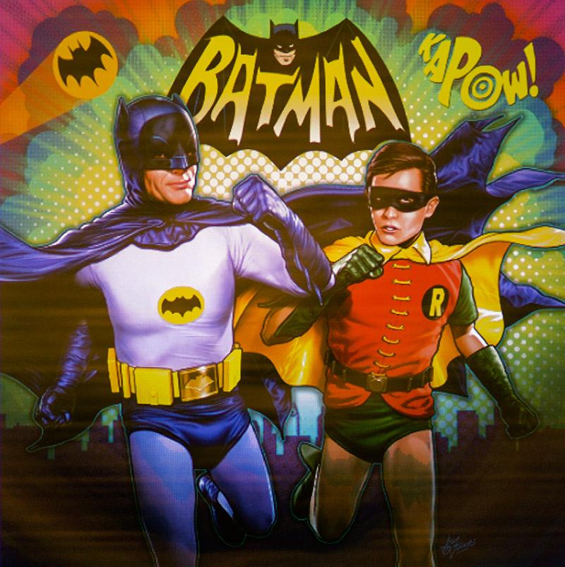 Sample Batman art