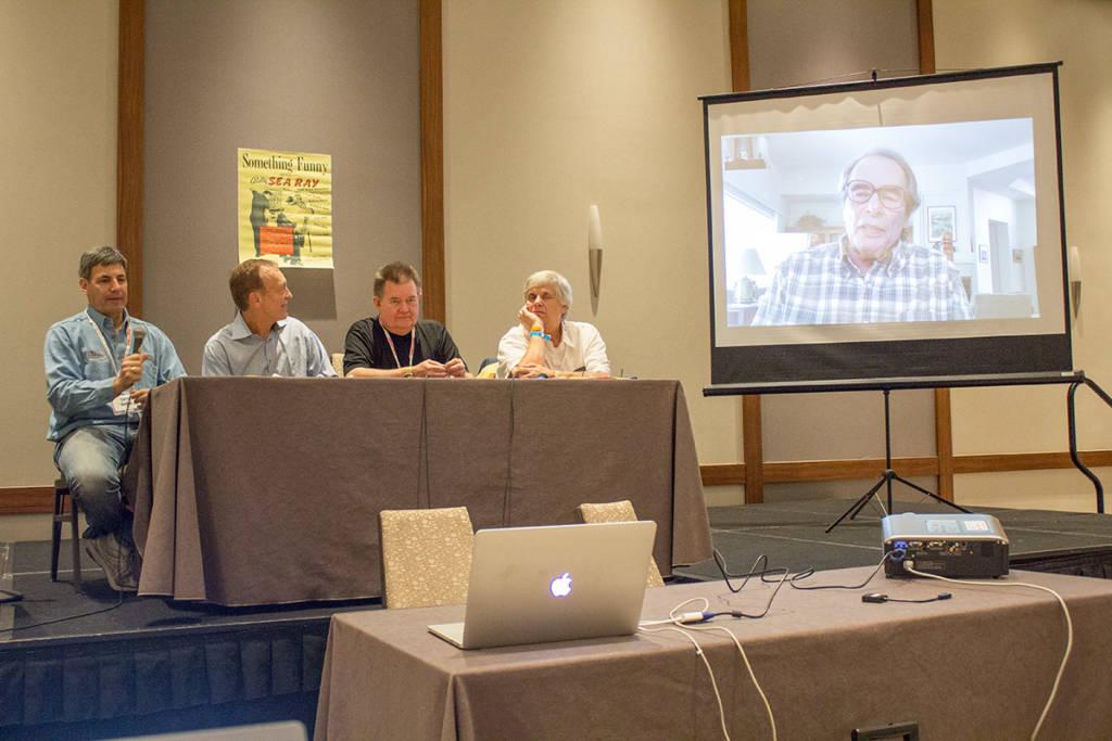 Larry, Eugene, Steve, Ken and Mike (on screen)