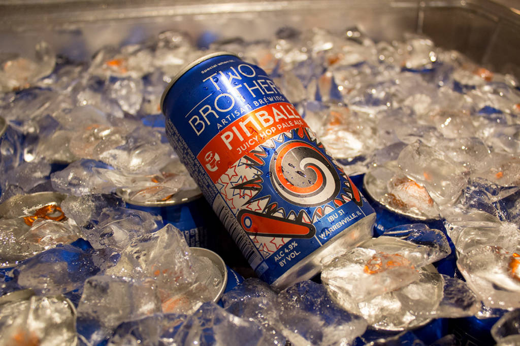 Pinball beer from Two Brothers