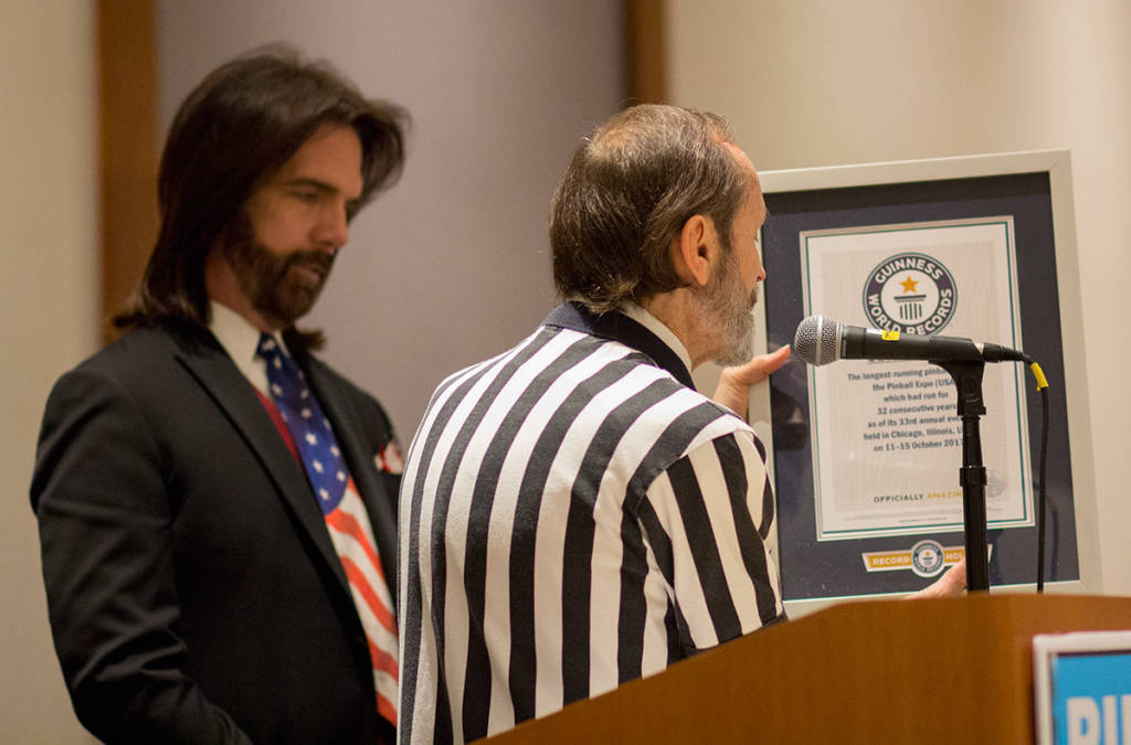 The Guinness World Record award