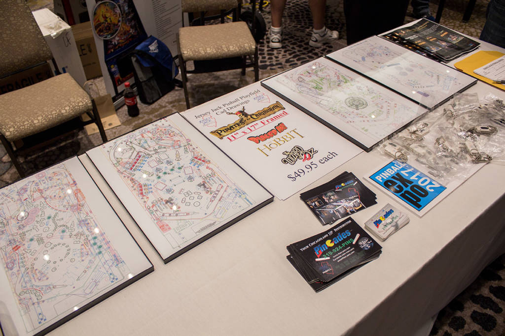 Playfield drawings of JJP games could be bought for just shy of $50