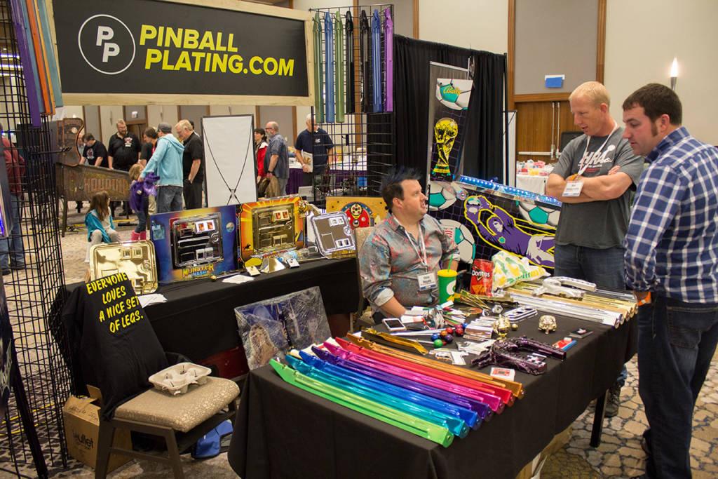 Pinball Plating's display