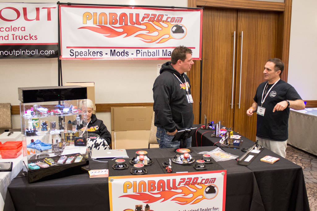 Pinball Pro had their famous speakers and other pinball mods
