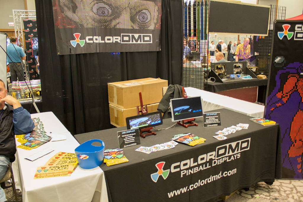 The ColorDMD stand