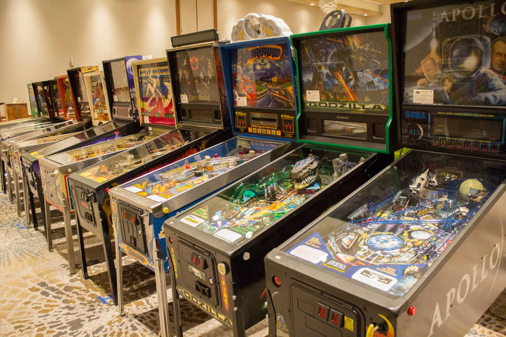 More machines in the Game Hall