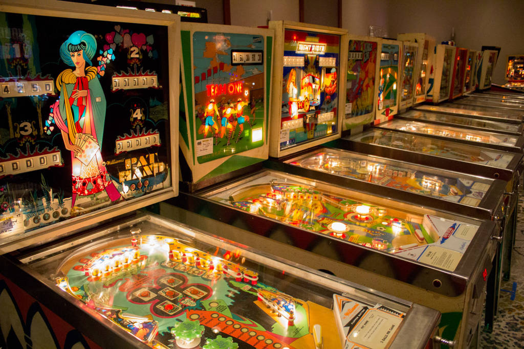 More pinballs in the first Games Hall