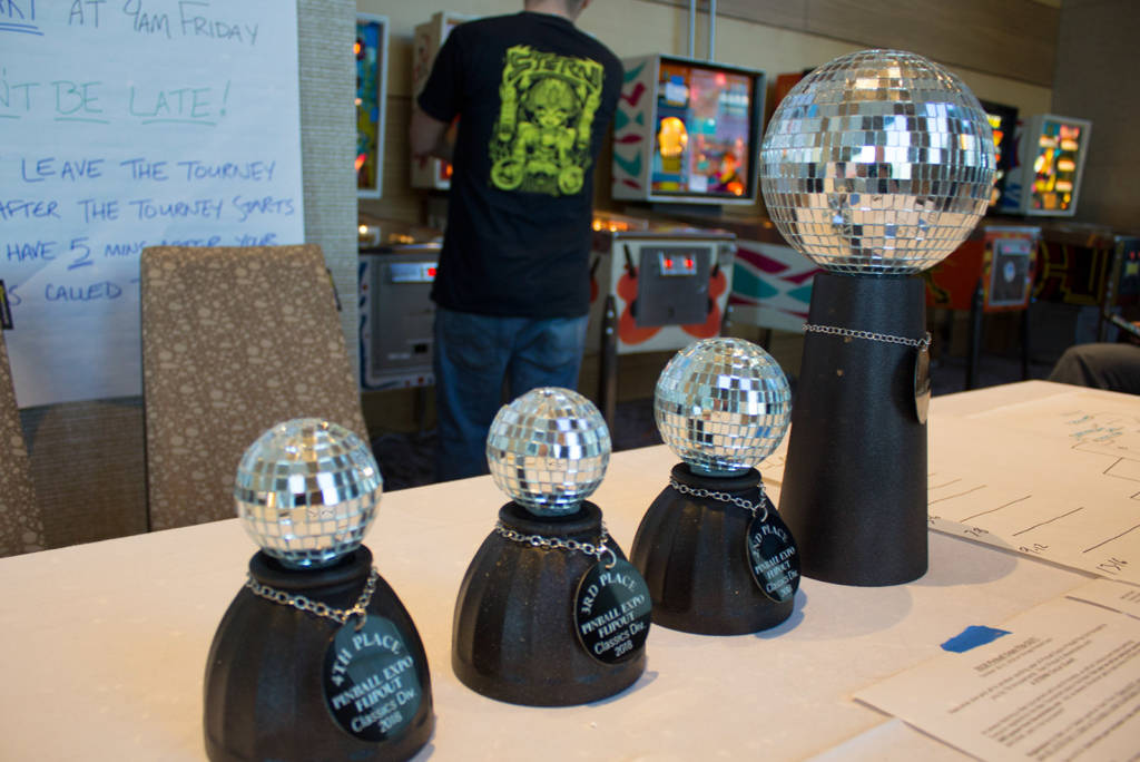 Trophies for the Classic Tournament