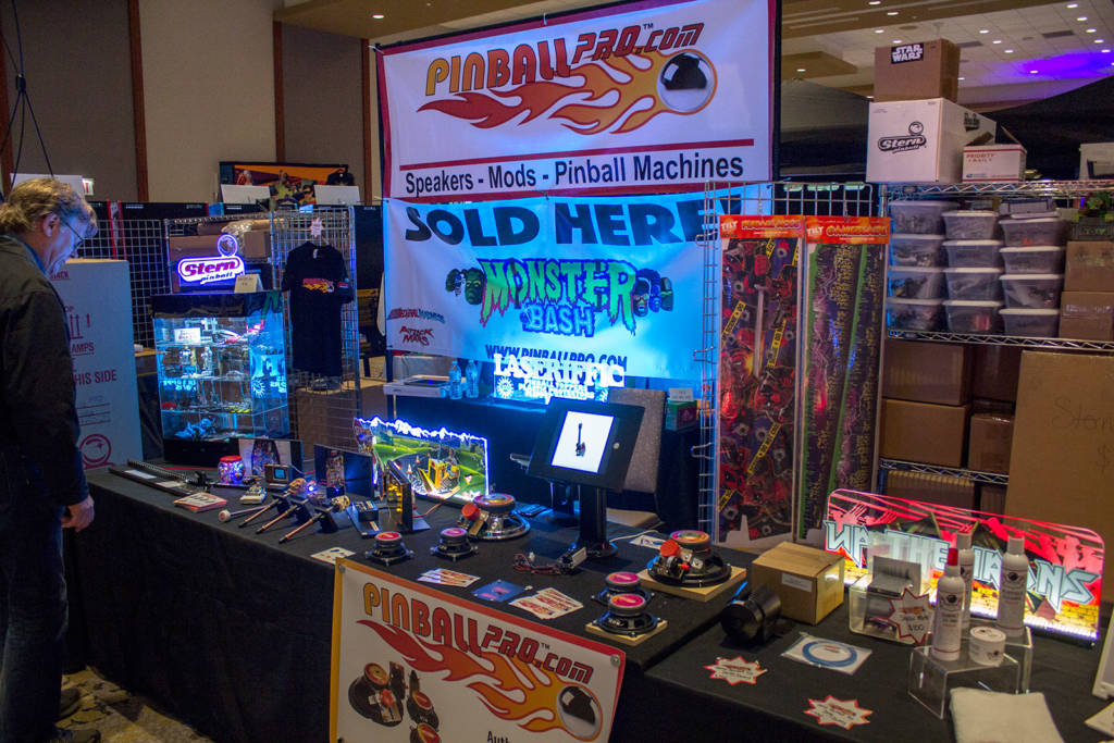 Pinball Pro sell not only their replacement speaker systems but also assorted mods and complete machines