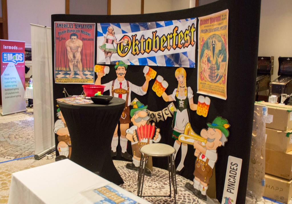 American Pinball's Oktoberfest was one of the big hits of Pinball Expo 2018
