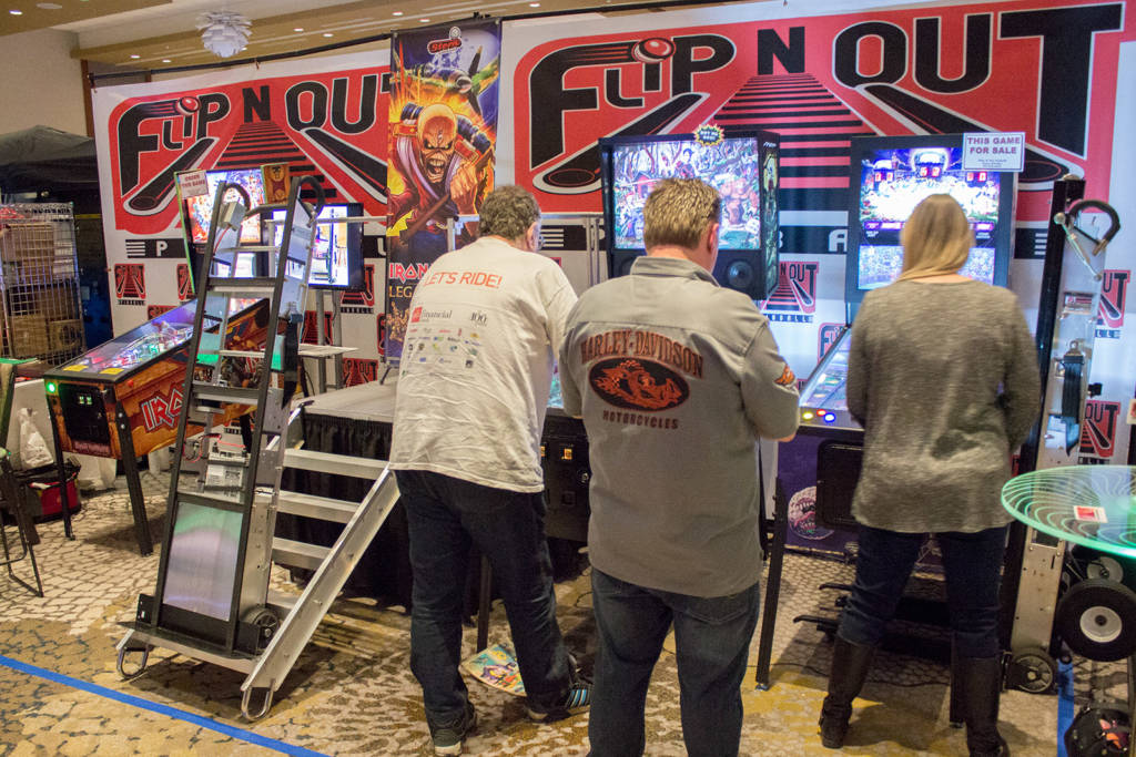 Flip N Out Pinball also sell complete games as well as their traditional range of Escalera stair-lift pinball movers
