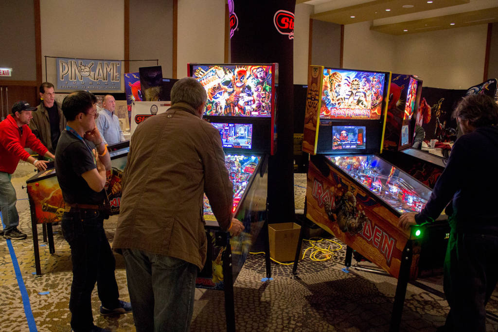 More Stern Pinball machines