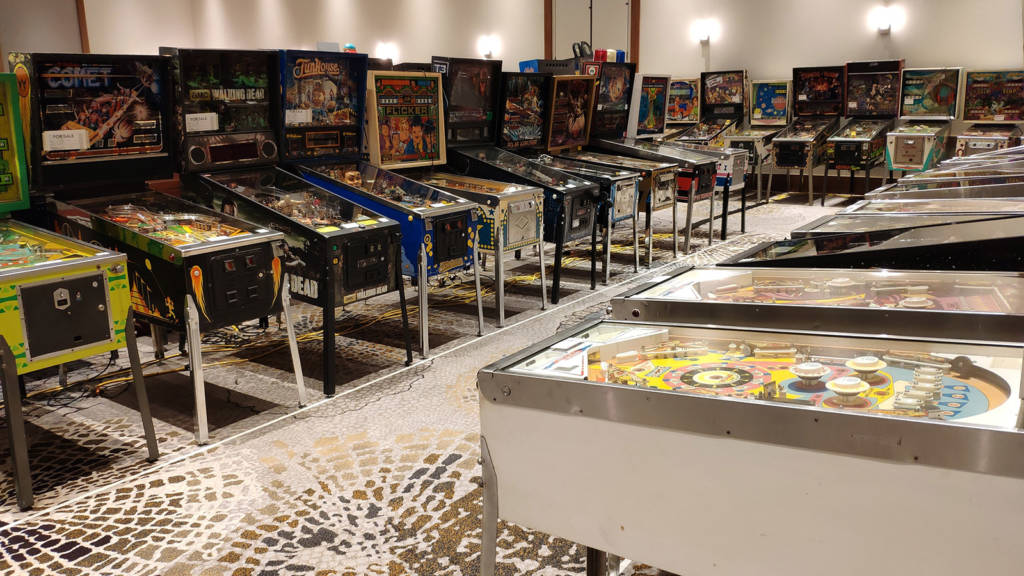 More machines in Game Hall A