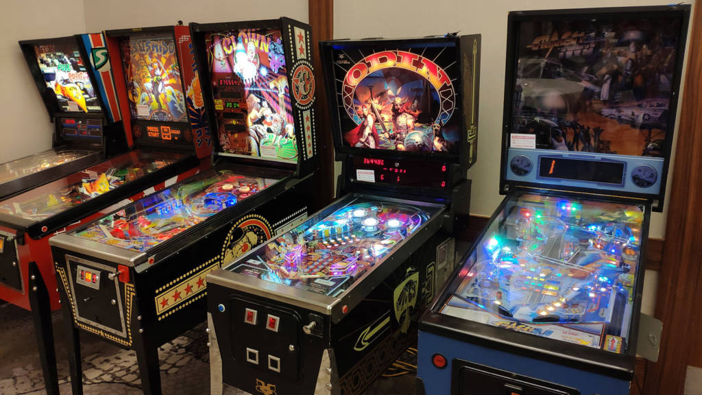 Some of the games available to play