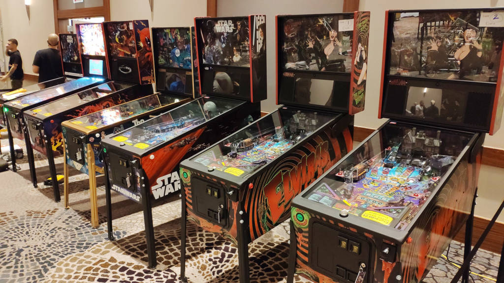 Machines for the modern Flip Out tournament