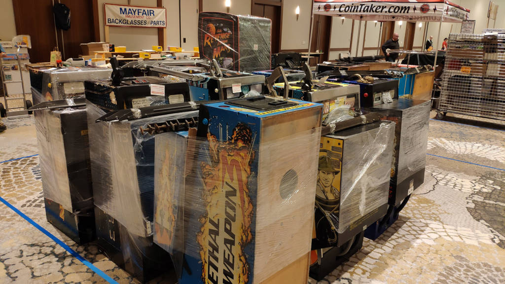 Machine to be set up in the Vendor Hall