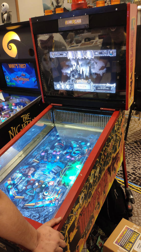A Harry Potter & The Goblet Of Fire video pinball