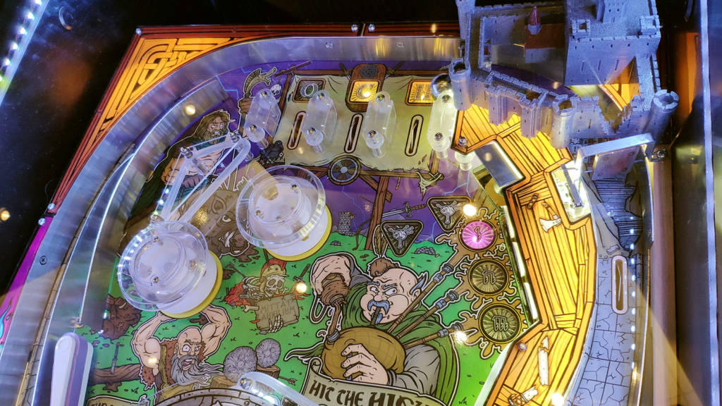 The top of the Celts playfield