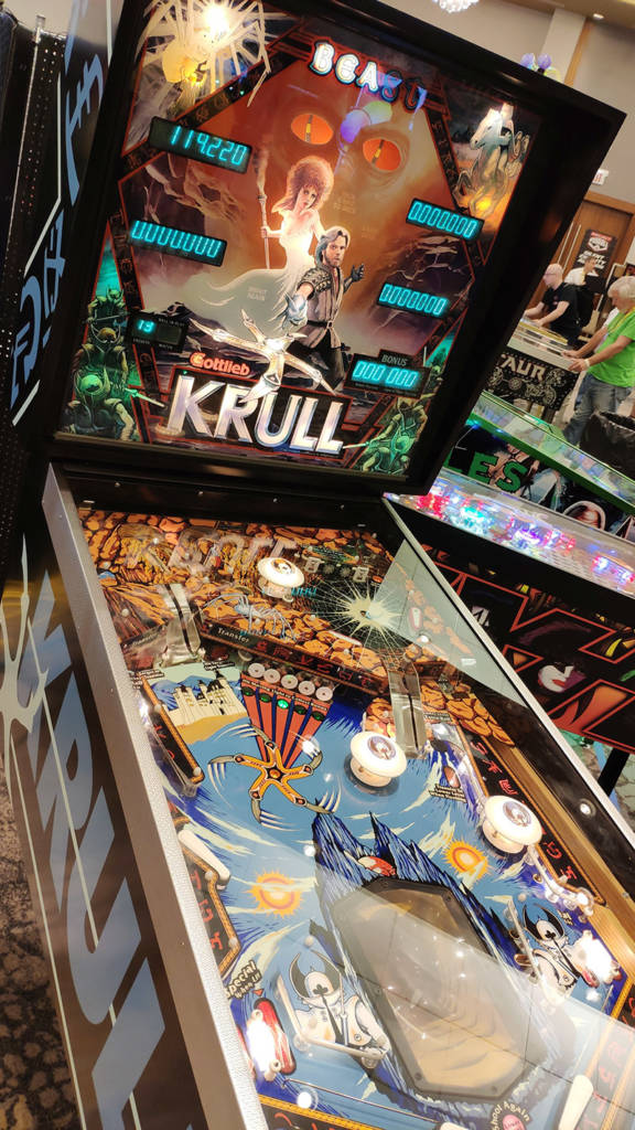 This rare Krull game was available to play