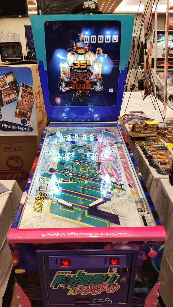 Pinball Depot's custom Pinball Expo game