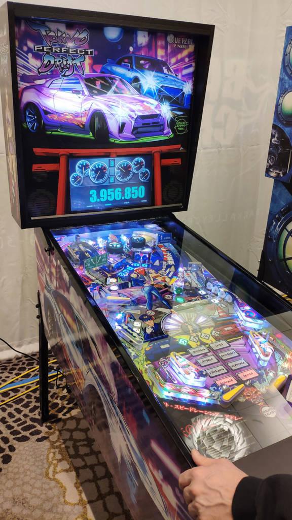 Quetzal Pinball's Tokyo Perfect Drift