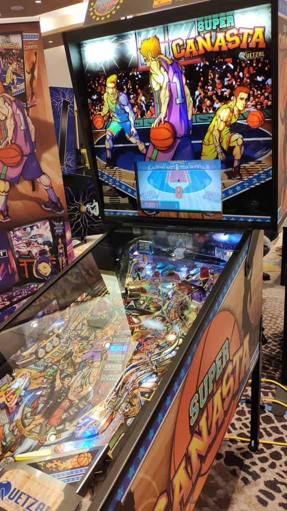 Quetzal Pinball's New Canasta game