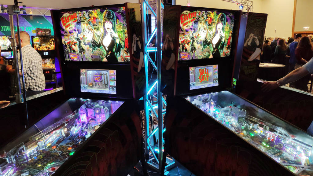 A central circle of Elvira machines