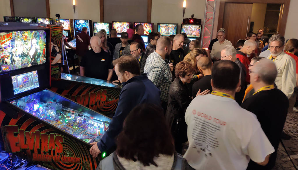 The Pin Lounge was a popular place to play Stern's latest titles