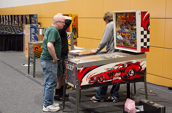 Setting up tournament machines