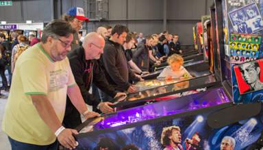 Northern Lights Pinball at Play Expo 2016