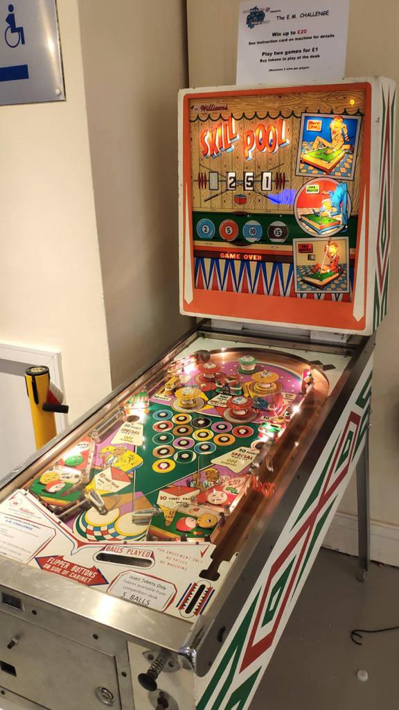 The EM high score competition machine