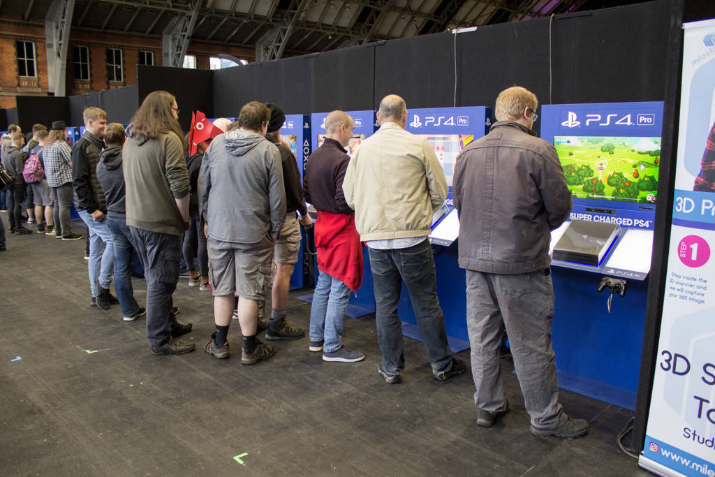 The Sony PS4 zone