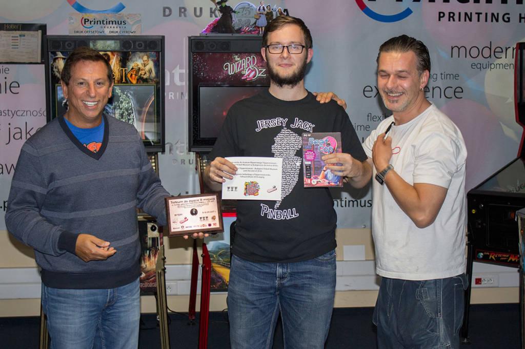 Third place, Daniel Maczurek