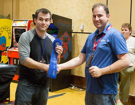 Ryan Grant wins Best 1980s Pinball