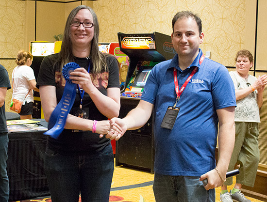 Hyperspace Arcade win the Best of Show - Arcade