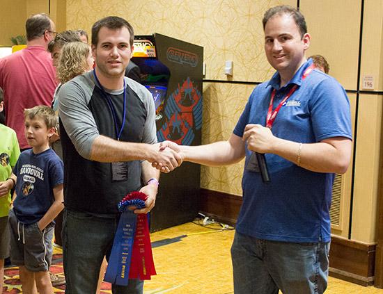 Ryan Grant wins Best of Show - Pinball