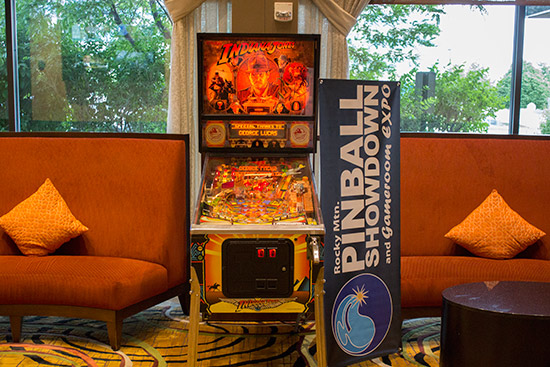 Indiana Jones will be here for hotel guests to play and raise money for charity