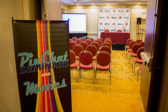 The seminars room