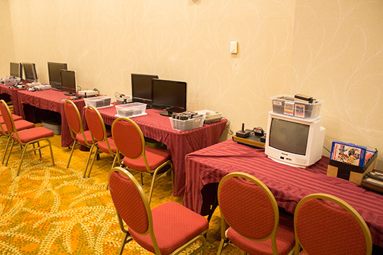 The final side room is for console gaming