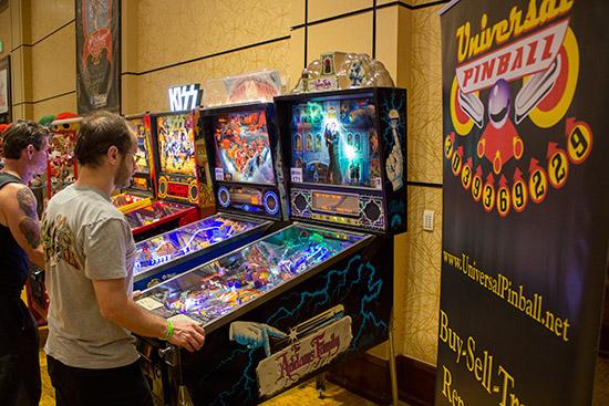 More Universal Pinball games