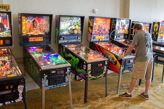 More Open Tournament machines