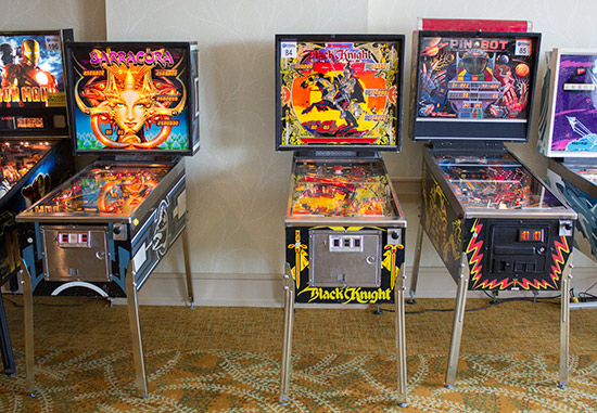 Solid State Tournament machines