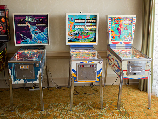 Electromechanical Tournament machines