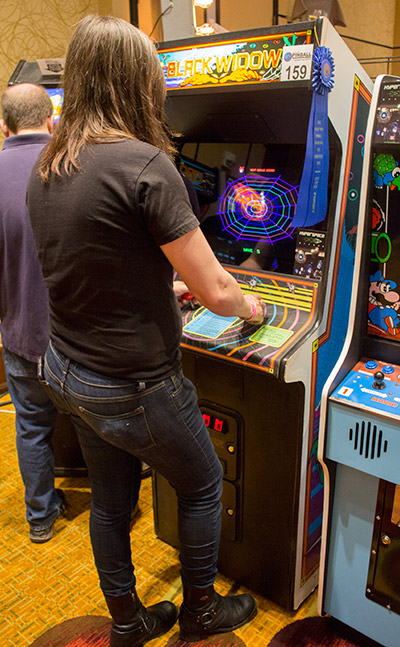 Best of Show arcade game, Black Widow from Hyperspace Arcade