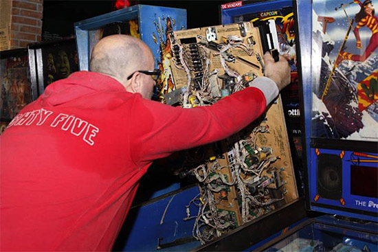 Ovi working on Street Fighter 2
