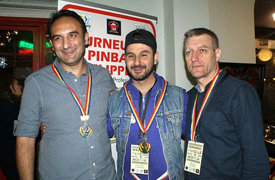The top three in the Classics Tournament
